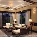 Sofa gỗ Grand Bois trong thiết kế nội thất hiện đại