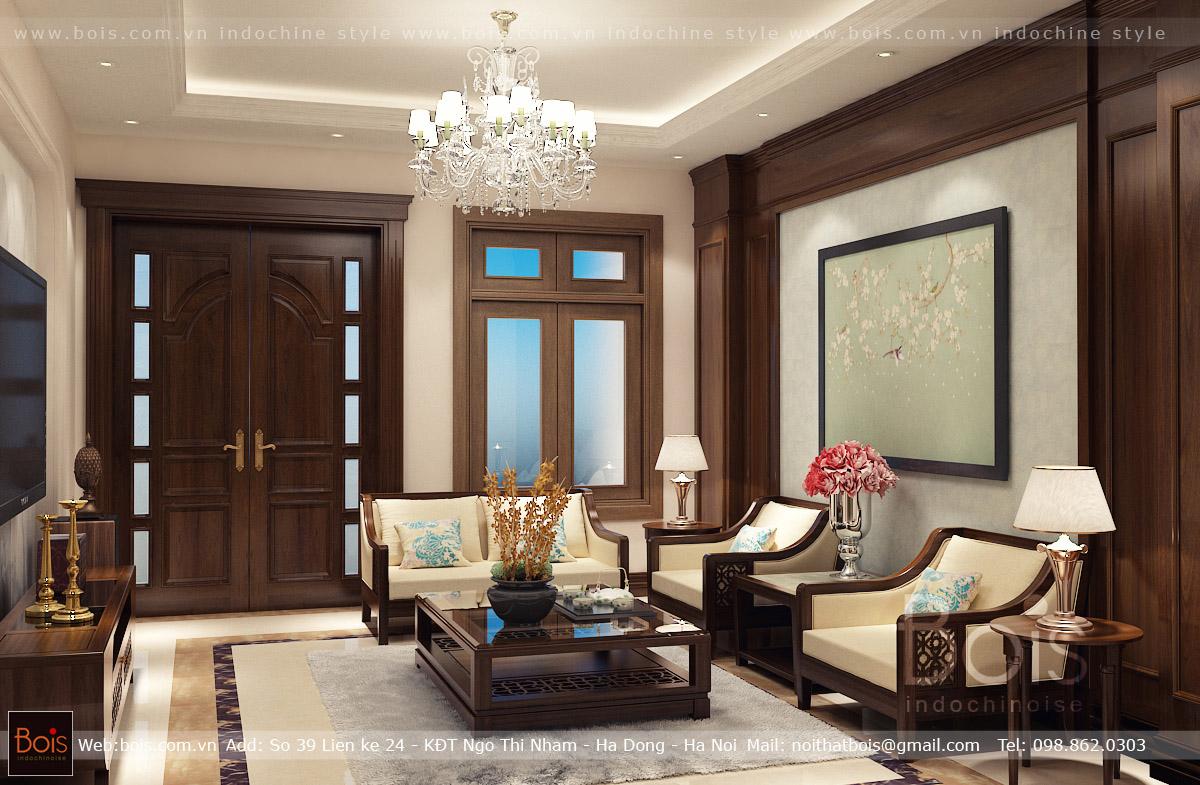 Thiết kế nội thất biệt thự Vinhomes Ocean Park phong cách Đông Dương một câu chuyện với những trăn trở về con đường, định hướng phát triển phong cách Đông Dương tại Việt Nam của Bois Indochinois