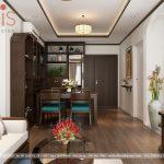 Thiết kế Chung cư Haven park residence tại Ecopark nhà Anh Đăng 2 phòng ngủ - 2 vệ sinh rộng 63m2