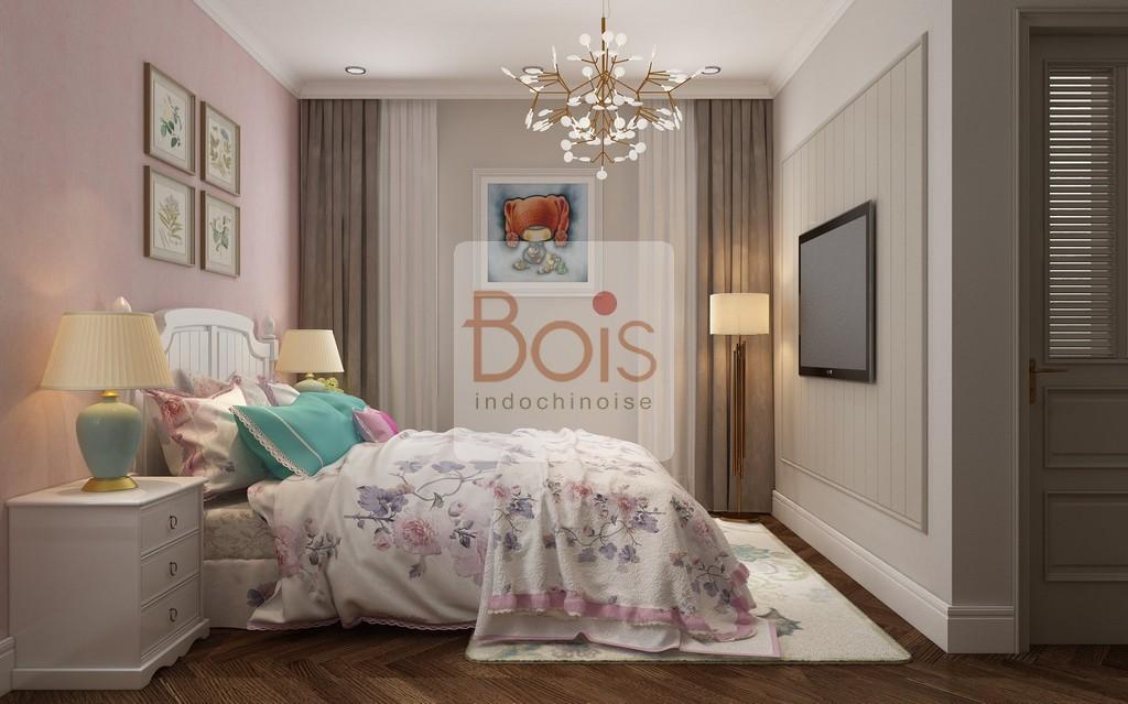 Bảng màu cho đồ nội thất được sử dụng có nét tương đồng với phong cách hiện đại và giữ chúng ở mức tối thiểu, không quá phô trương.